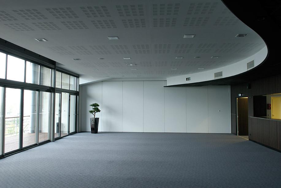 Mur mobile / Placard coulissant aménagé / Sol / Faux plafonds ...